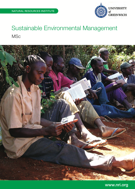MSc Sustainable Environmental Management